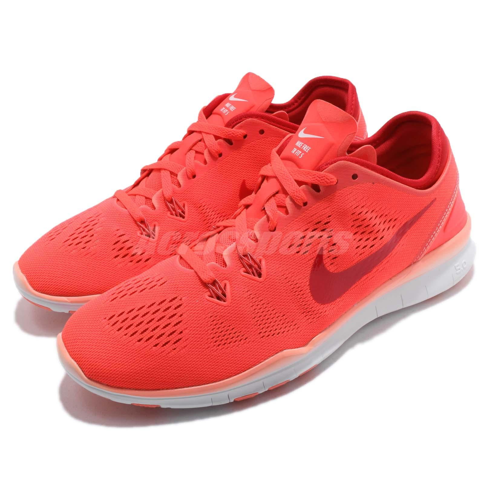 823c444036dc3 Nike Wmns Free 5.0 TR Fit 5 V Bright Crimson Red Women Cross Training  704674601 - mainstreetblytheville.org