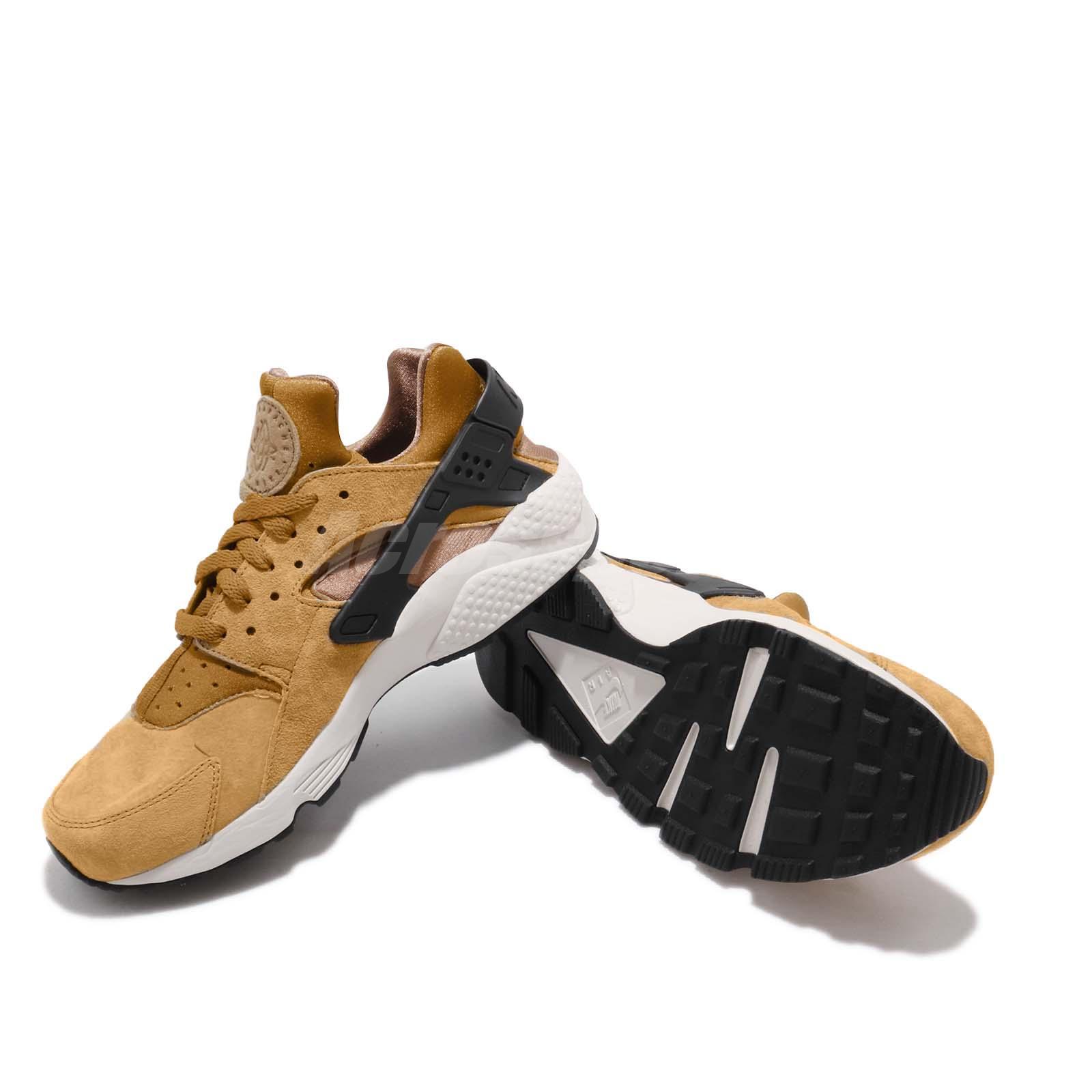 b1922b8d48fe Nike Air Huarache Run PRM Wheat Pack Black Light Bone Men Shoes ...