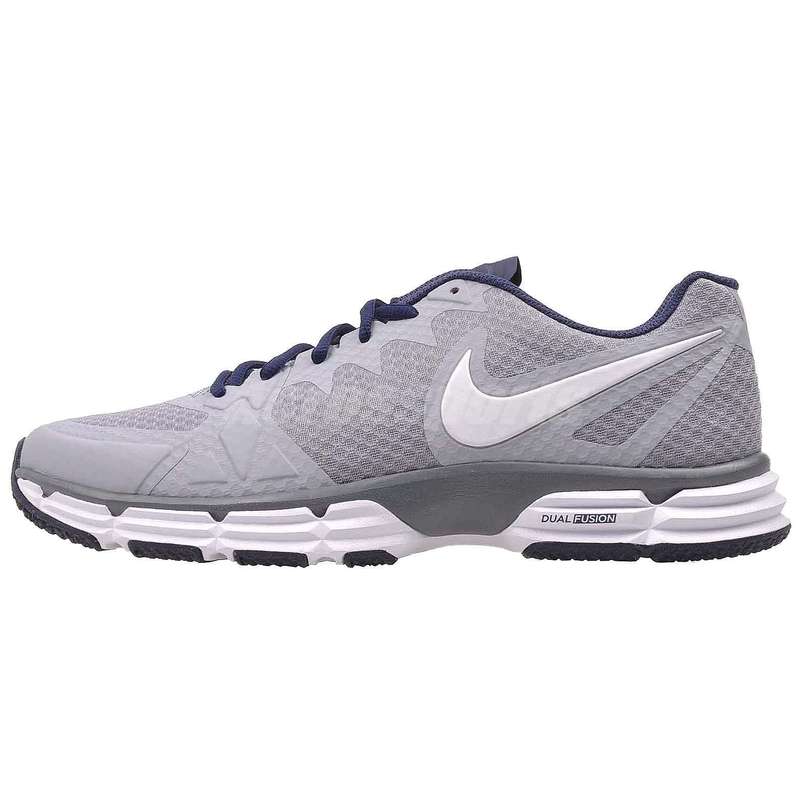 online store 888ec 3afa5 Gallery Nike Dual Fusion TR III Men s Training Shoes Sneakers Gray Size 11