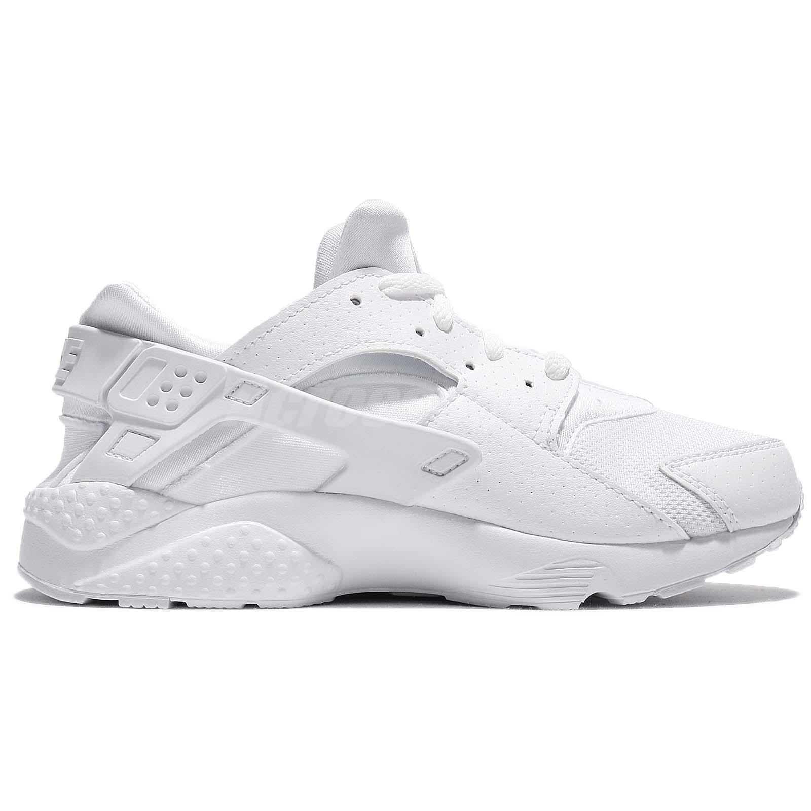 651e9593ac4a Nike Huarache Run PS White Pure Platinum Kid Preschool Shoes ...