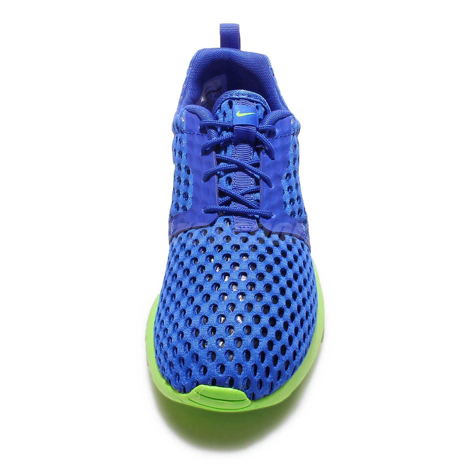online retailer d6bda b133c Nike Roshe One Flight Weight GS Rosherun Sprite Blue Green Kid Youth ...