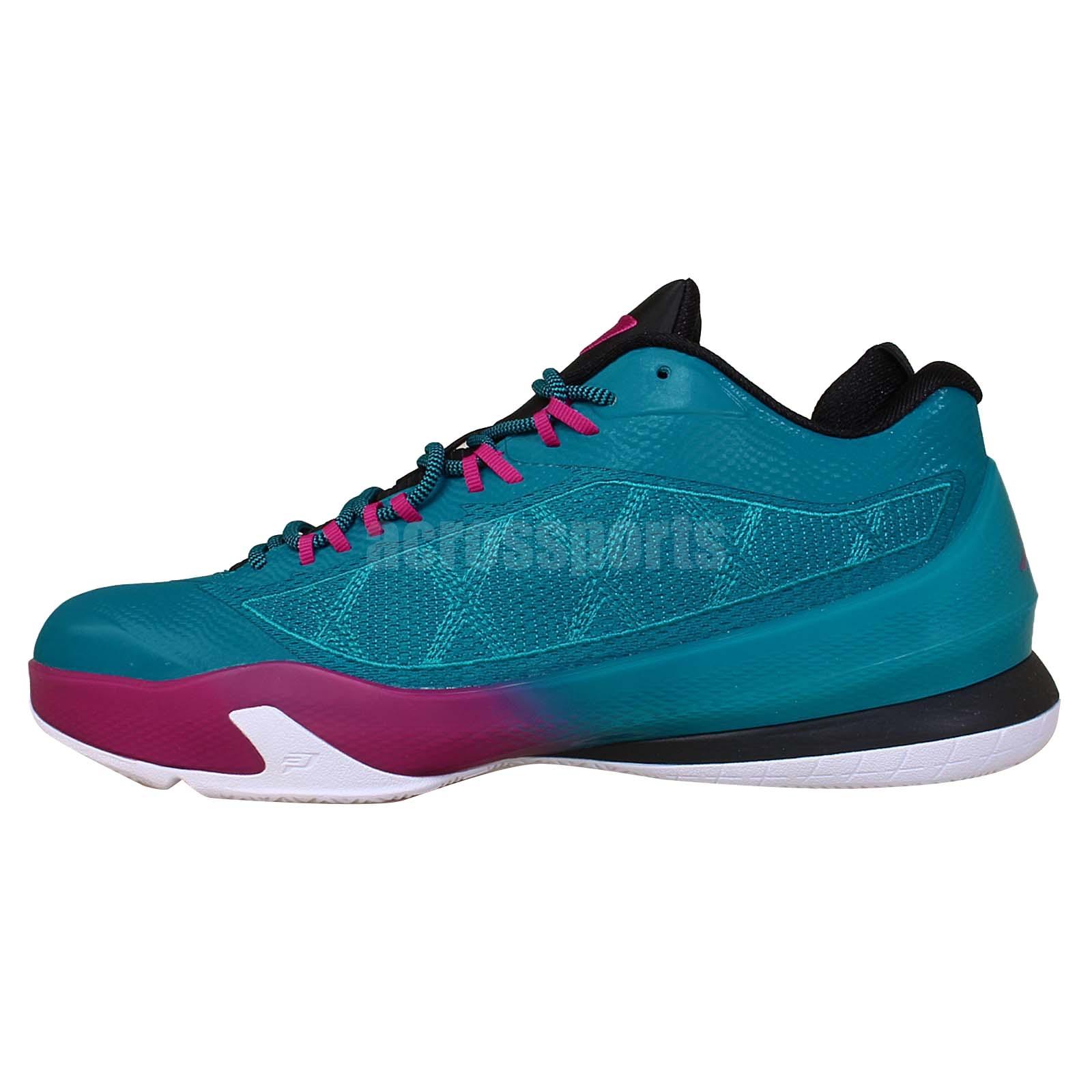 Nike Jordan CP3 VIII X 8 Chris Paul Teal Purple 2014 New ...