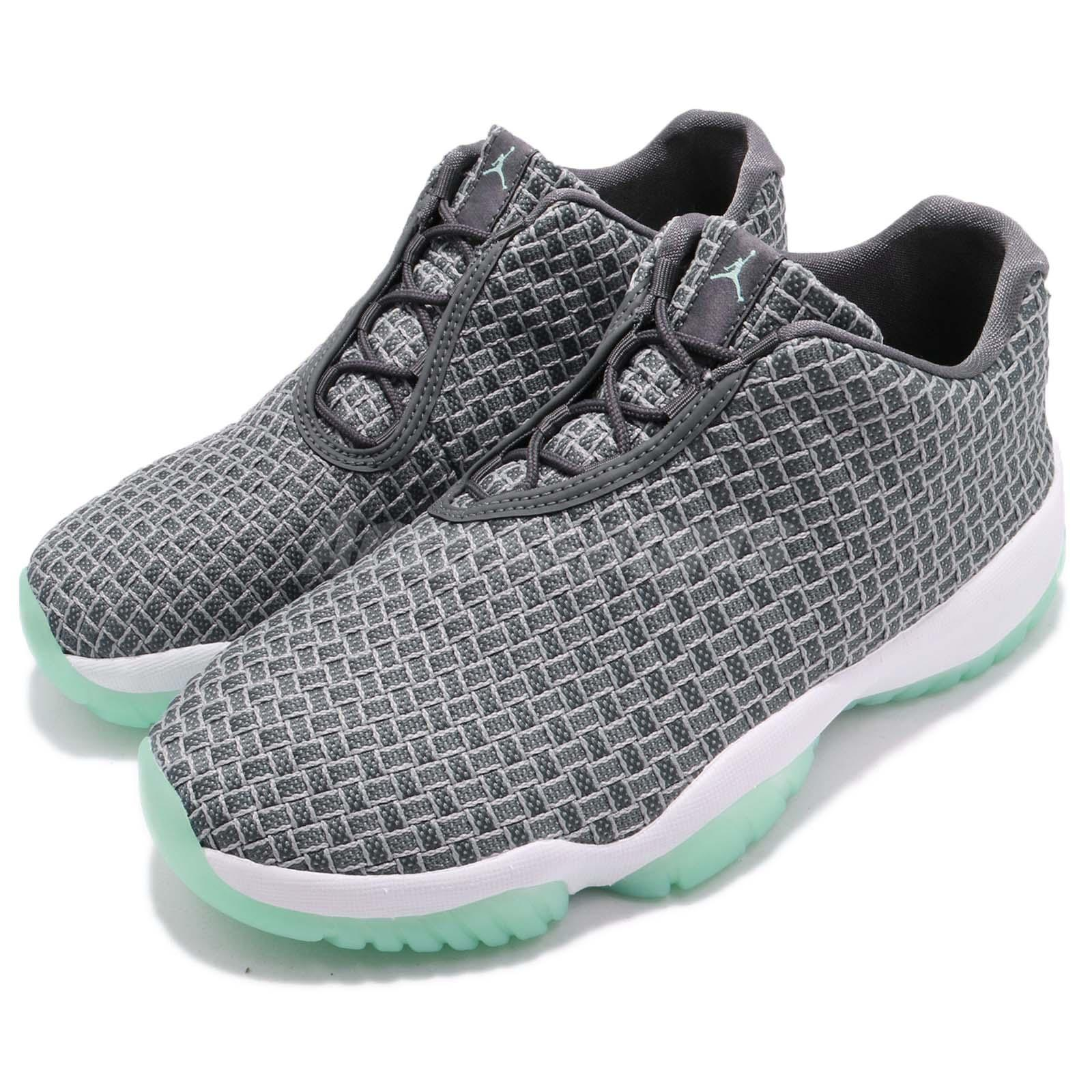 the best attitude 88264 c6b4a Details about Nike Air Jordan Future Low Wolf Grey Emerald Rise Men  Lifestyle Shoes 718948-006