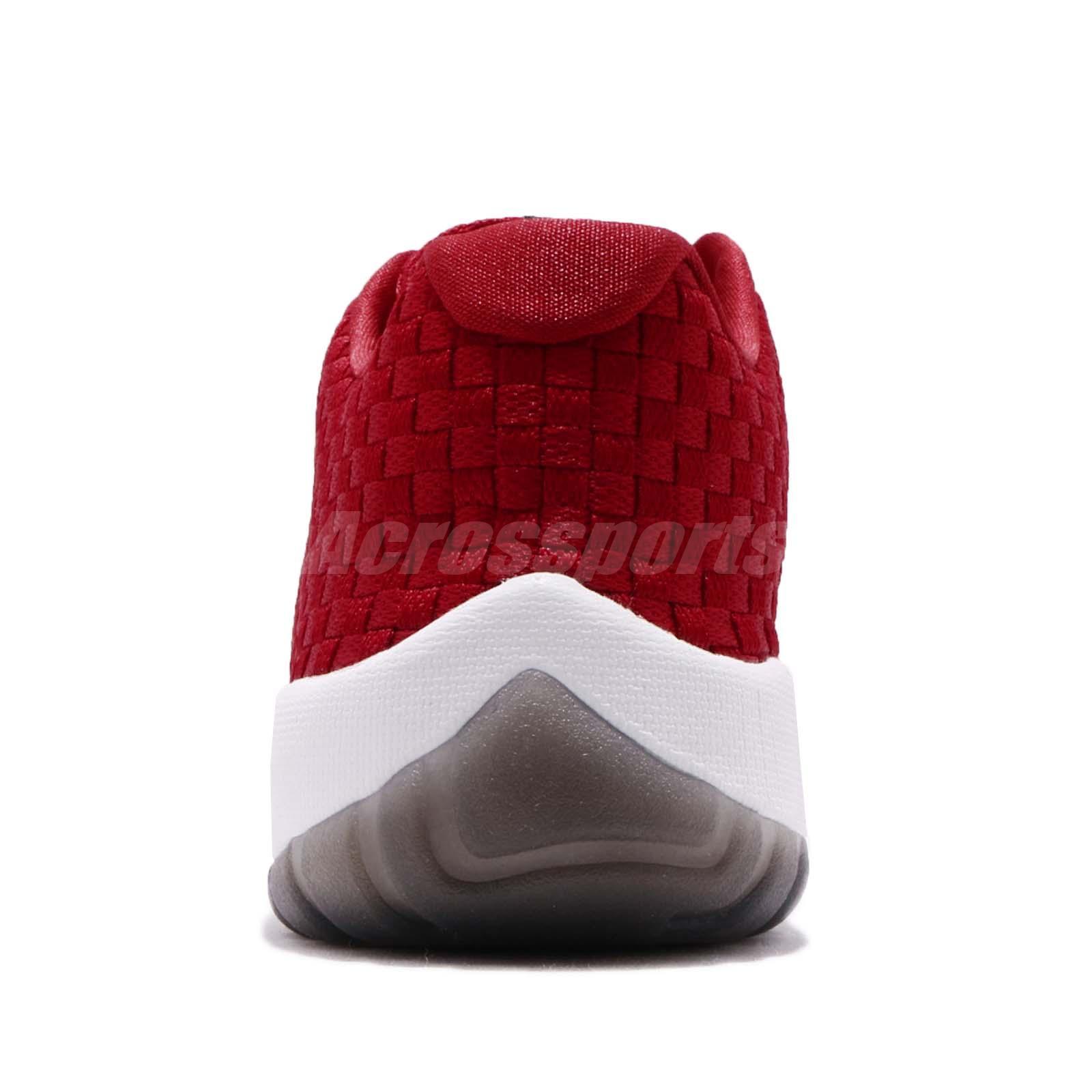 3dddebf8946664 Nike Air Jordan Future Low Gym Red White Woven Men Basketball Shoes ...