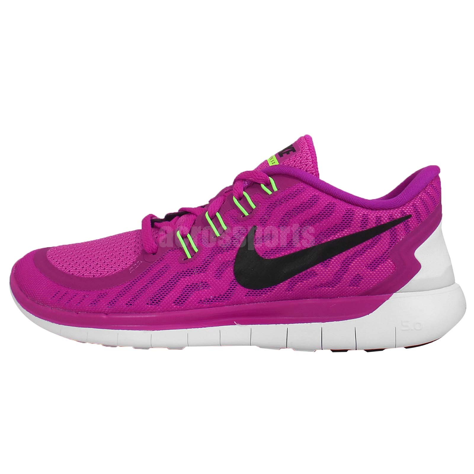wmns nike free 5 0 purple black womens running shoes nike. Black Bedroom Furniture Sets. Home Design Ideas