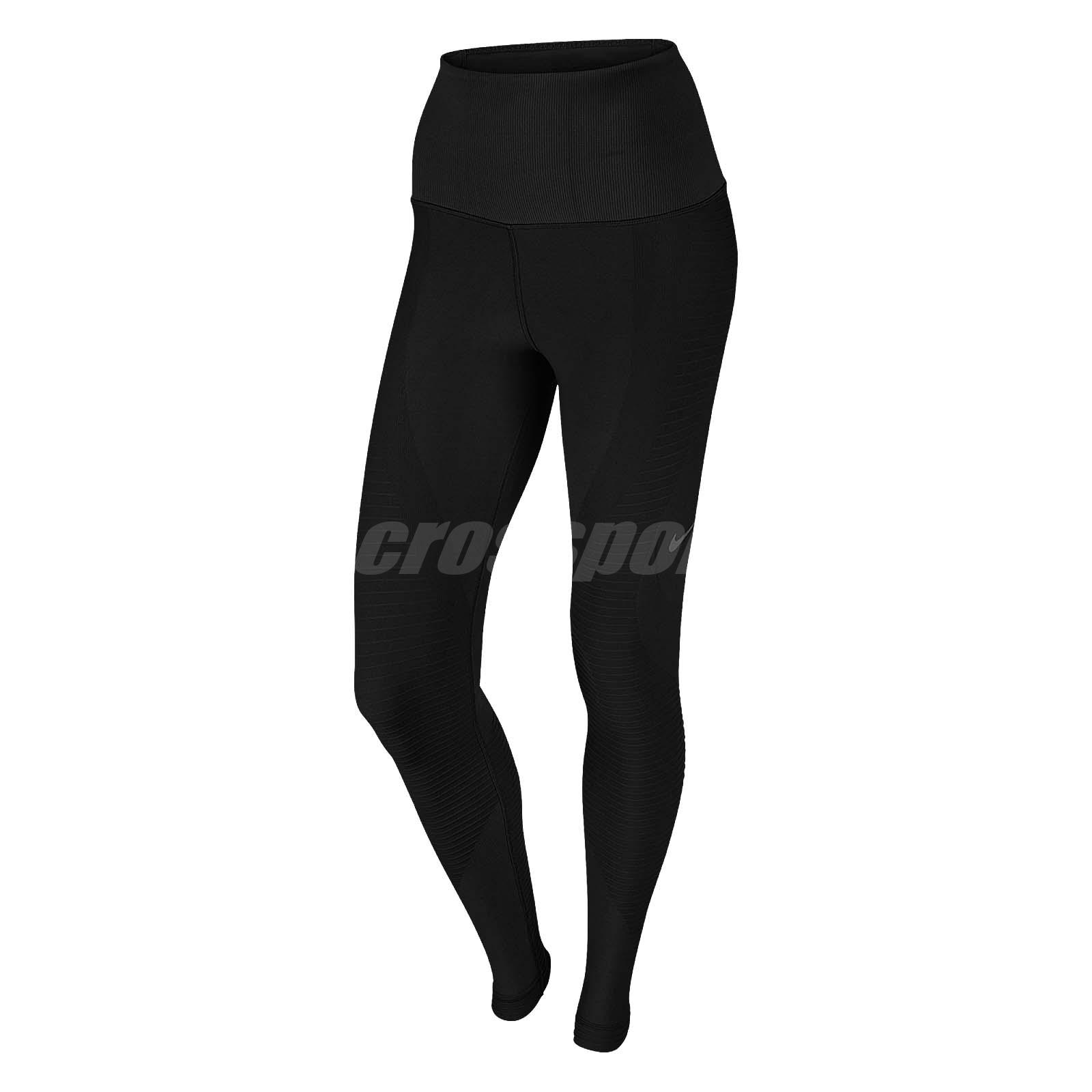 41e97d16f1 Nike Women Zoned Sculpt Training Tights Training Workout Sports Black  725154-010