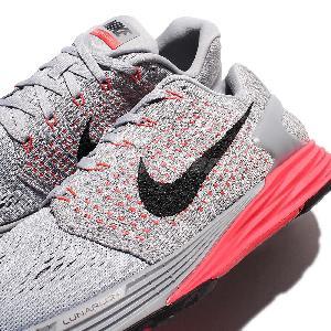 on sale bb102 2d8e6 ... where to buy nike lunarglide 7 grey black red mens running shoes  lunarlon 747355 008 0077b