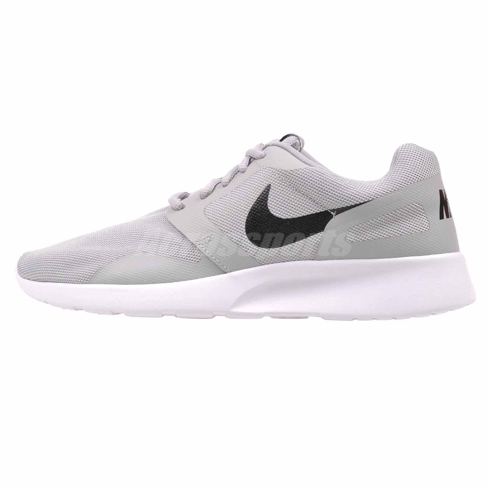 newest 6dd62 f85d9 Nike Kaishi NS Running Mens Shoes Grey Black White 747492-003