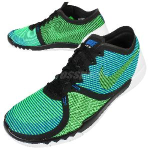pretty nice fa71d 5329c ... coupon nike free trainer 3.0 v4 black green blue mens cross training  shoes 749361 034 .