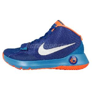 cheap for discount e22f1 13d0f ... Nike KD Trey 5 III EP Blue Orange Kevin Durant Mens Basketball Shoes  749378-404 ...