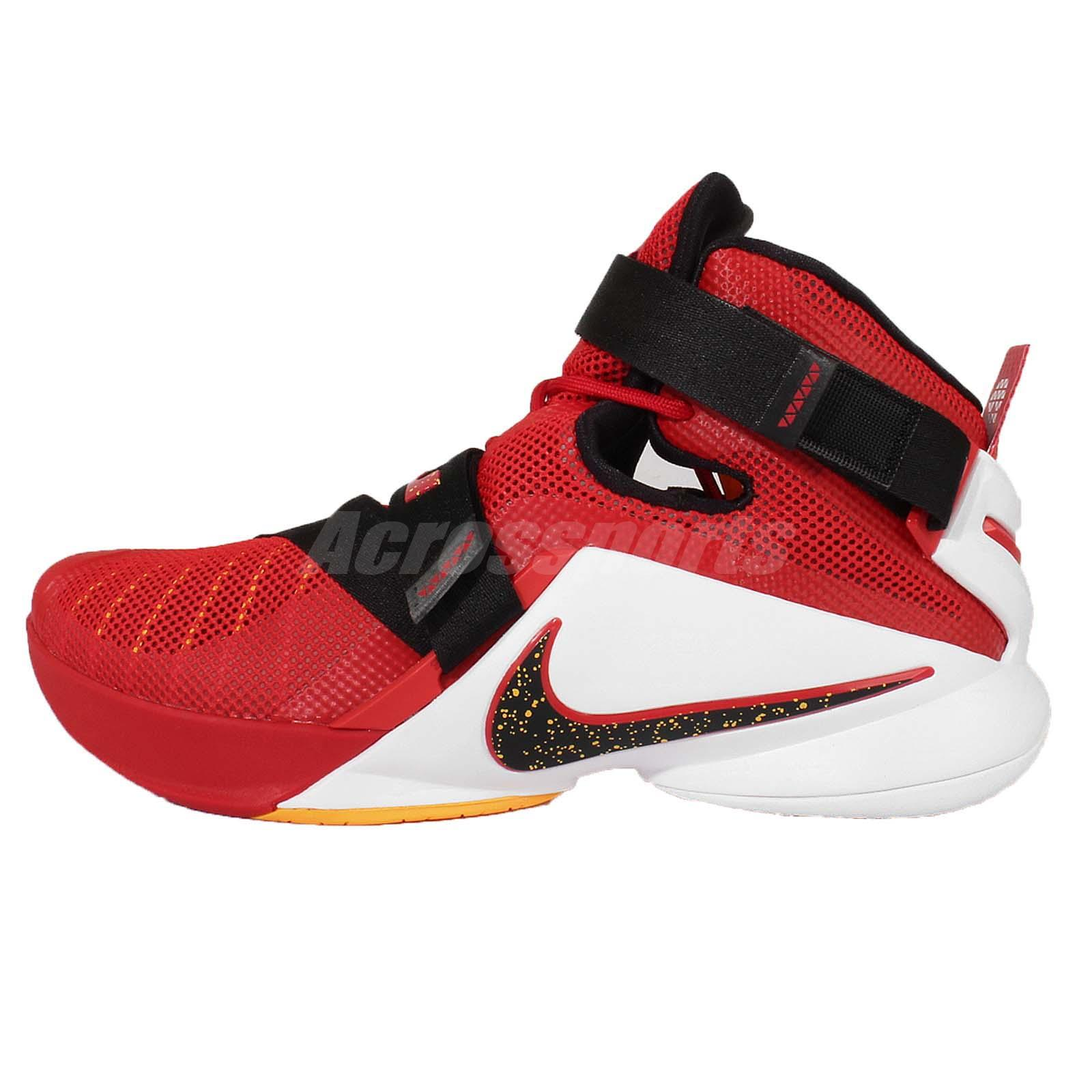 d424270c5110 ... Nike Lebron Soldier IX EP 9 Lebron James Red Mens Basketball Shoes  749420-606 ...