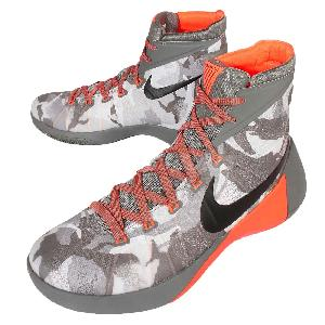 e709a10ee76 Nike Hyperdunk 2015 PRM EP Grey Orange Camo Mens Basketball Shoes  749570-001 Kicks Deals ...