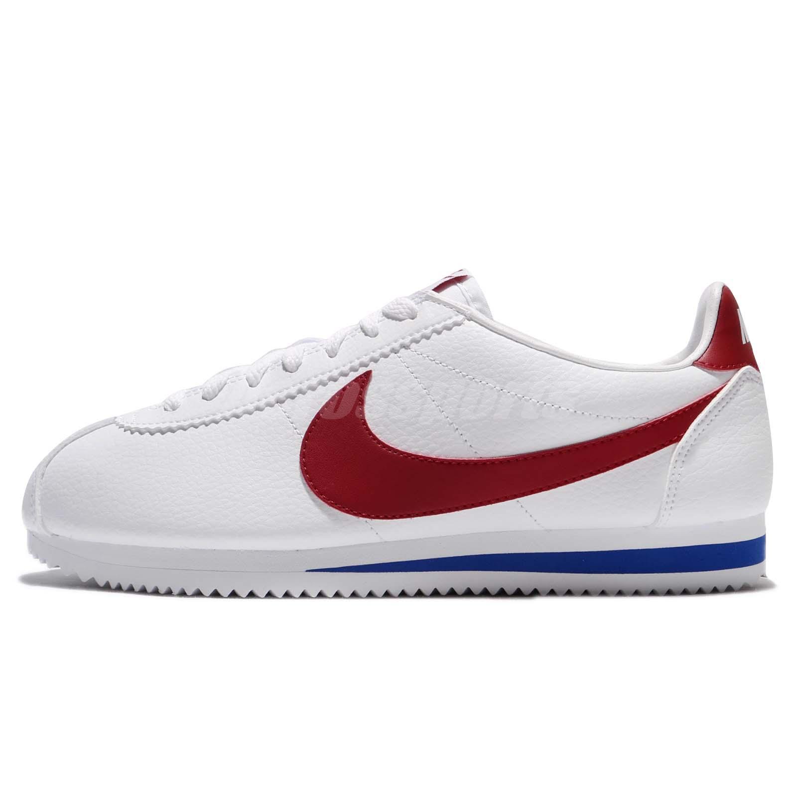 4db9d8ac ... best nike classic cortez leather forrest gump og white university red  men 749571 154 ea52b 9ccd8
