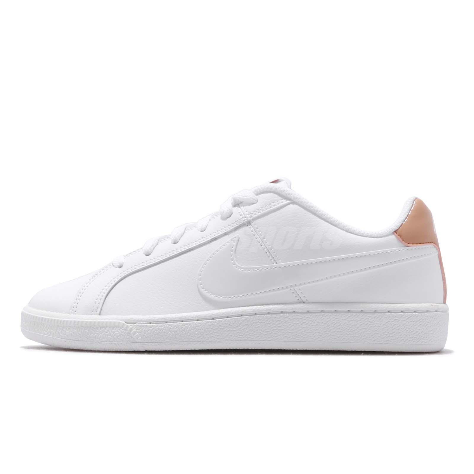 06d3cd4268 Nike Wmns Court Royale White Rose Gold Women Casual Shoes Sneakers  749867-116