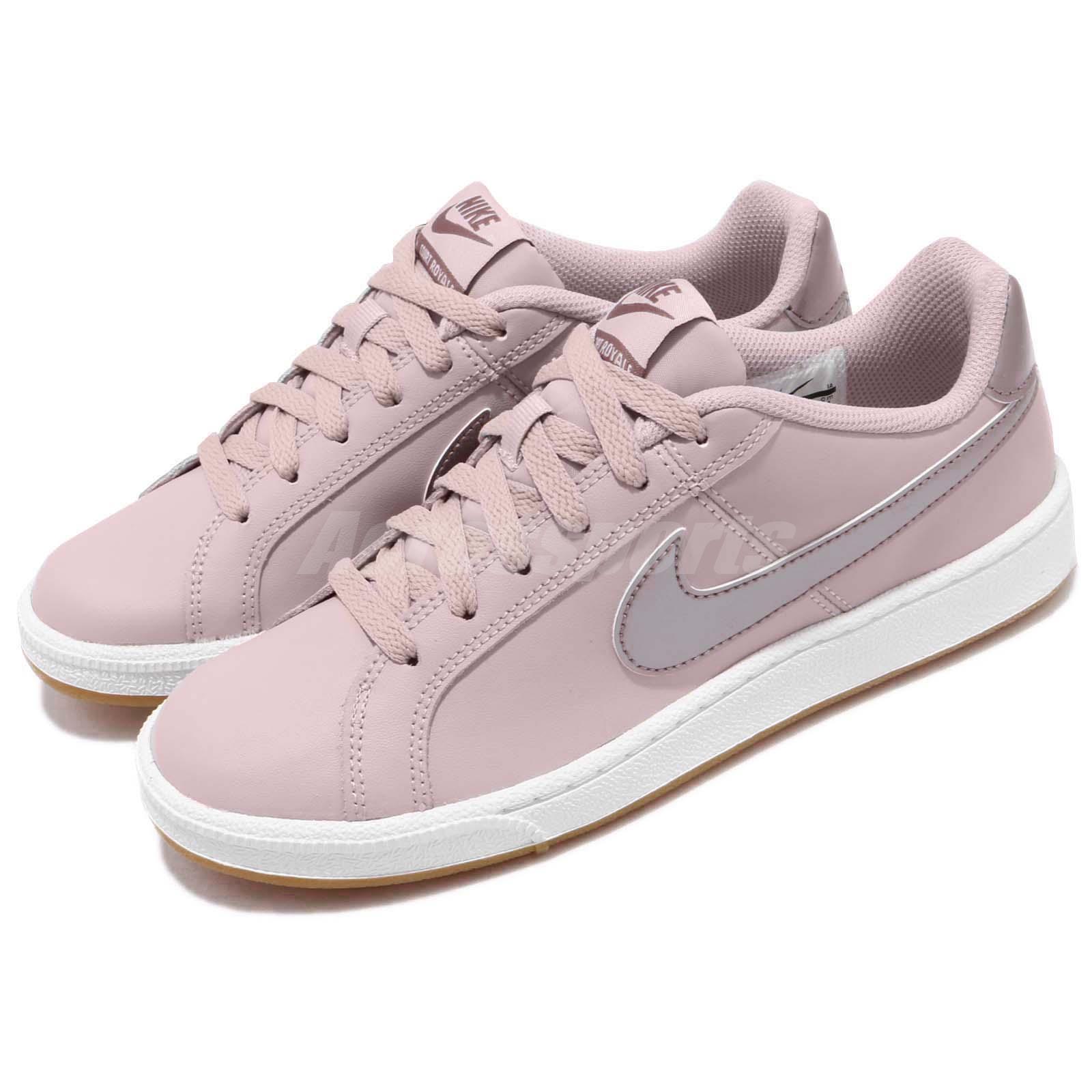 ac23bc703e80 Details about Nike Wmns Court Royale Particle Rose Pink Gum Women Shoes  Sneakers 749867-600