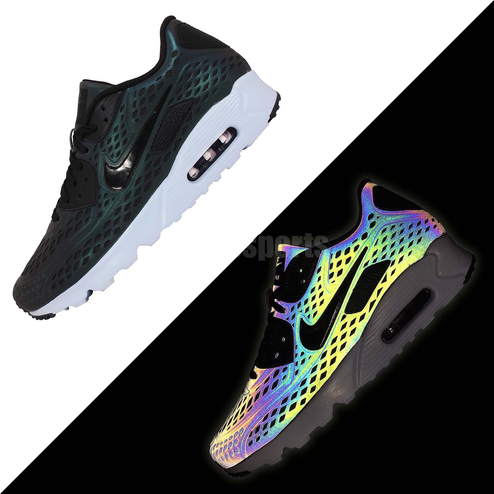 online store c494f 1fb82 NIKE AIR MAX 90 ULTRA MOIRE QS IRIDESCENT PACK MENS RUNNING SHOES  777427-200 on The Hunt