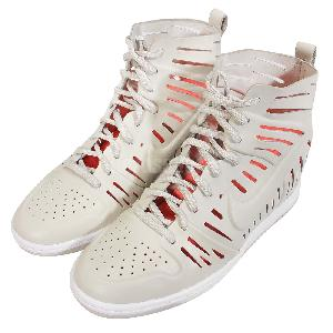 9715f5d279e ... Wmns Nike Dunk Sky Hi 2.0 Joli QS Light Bone Womens Wedges Shoes  802813-001 ...