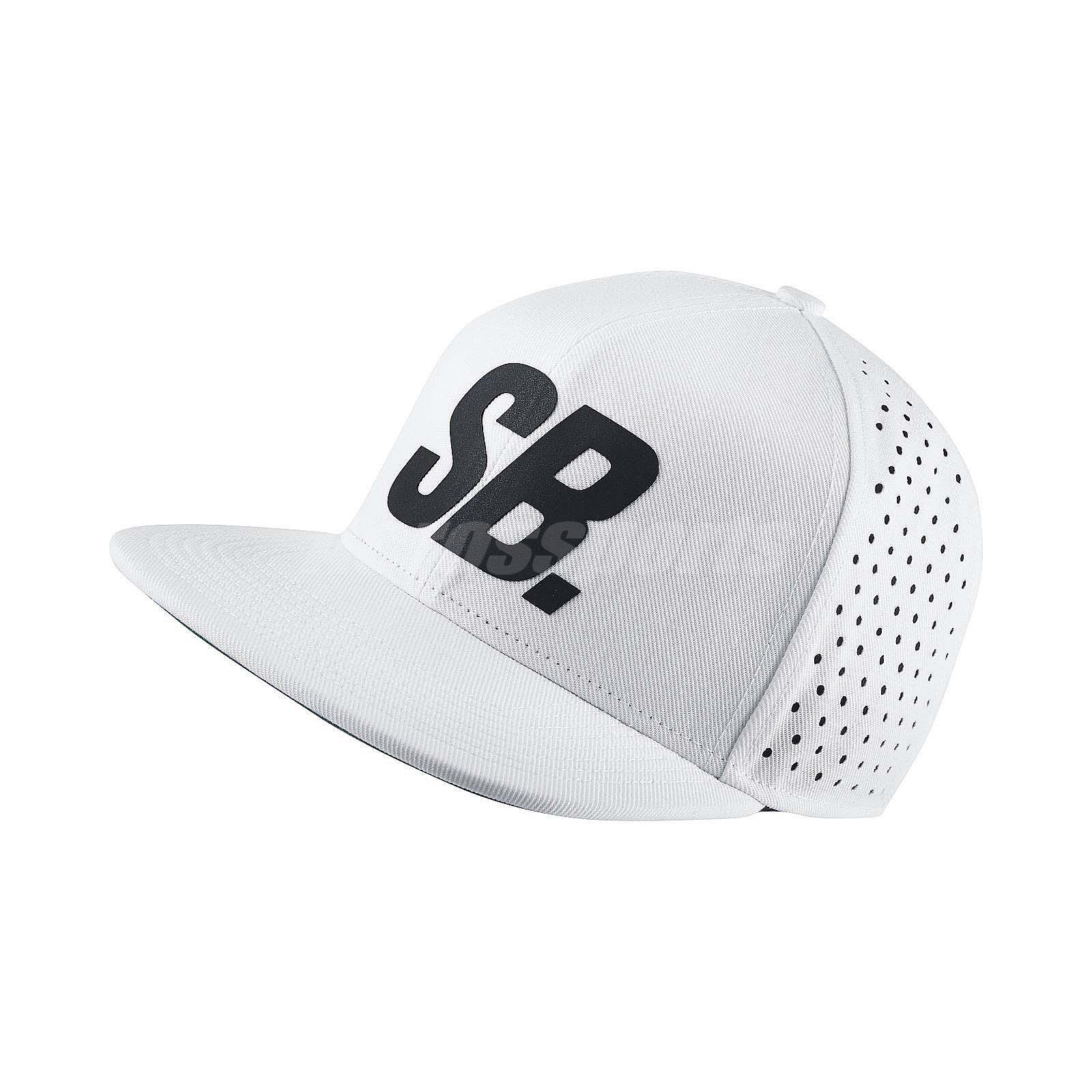 Details about Nike SB Black Reflective Pro Trucker White Black Cap  Adjustable Hat 804567-100 f8ae0faddd0
