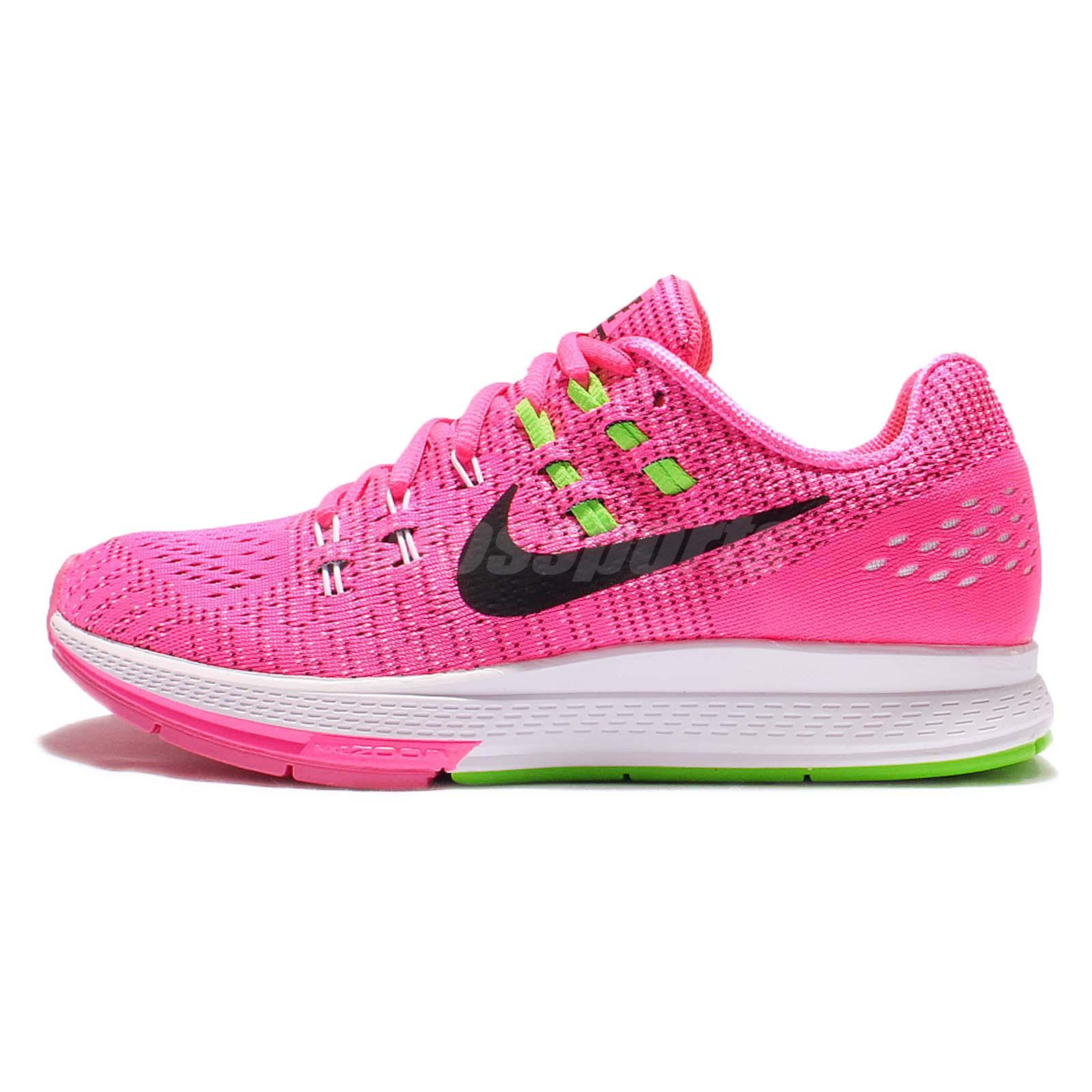 637d7f83f41d Wmns Nike Air Zoom Structure 19 Pink Black Womens Running Trainers  806584-600