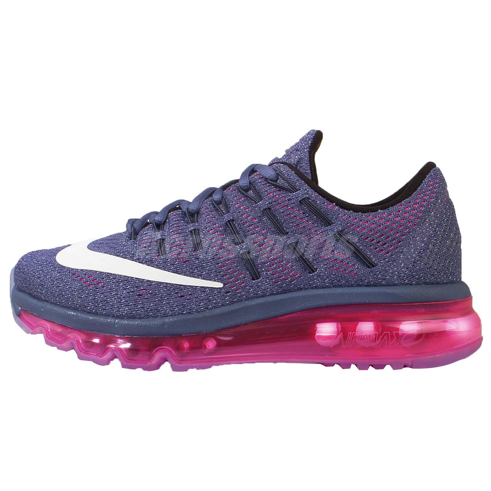 wmns nike air max 2016 purple white pink womens running. Black Bedroom Furniture Sets. Home Design Ideas