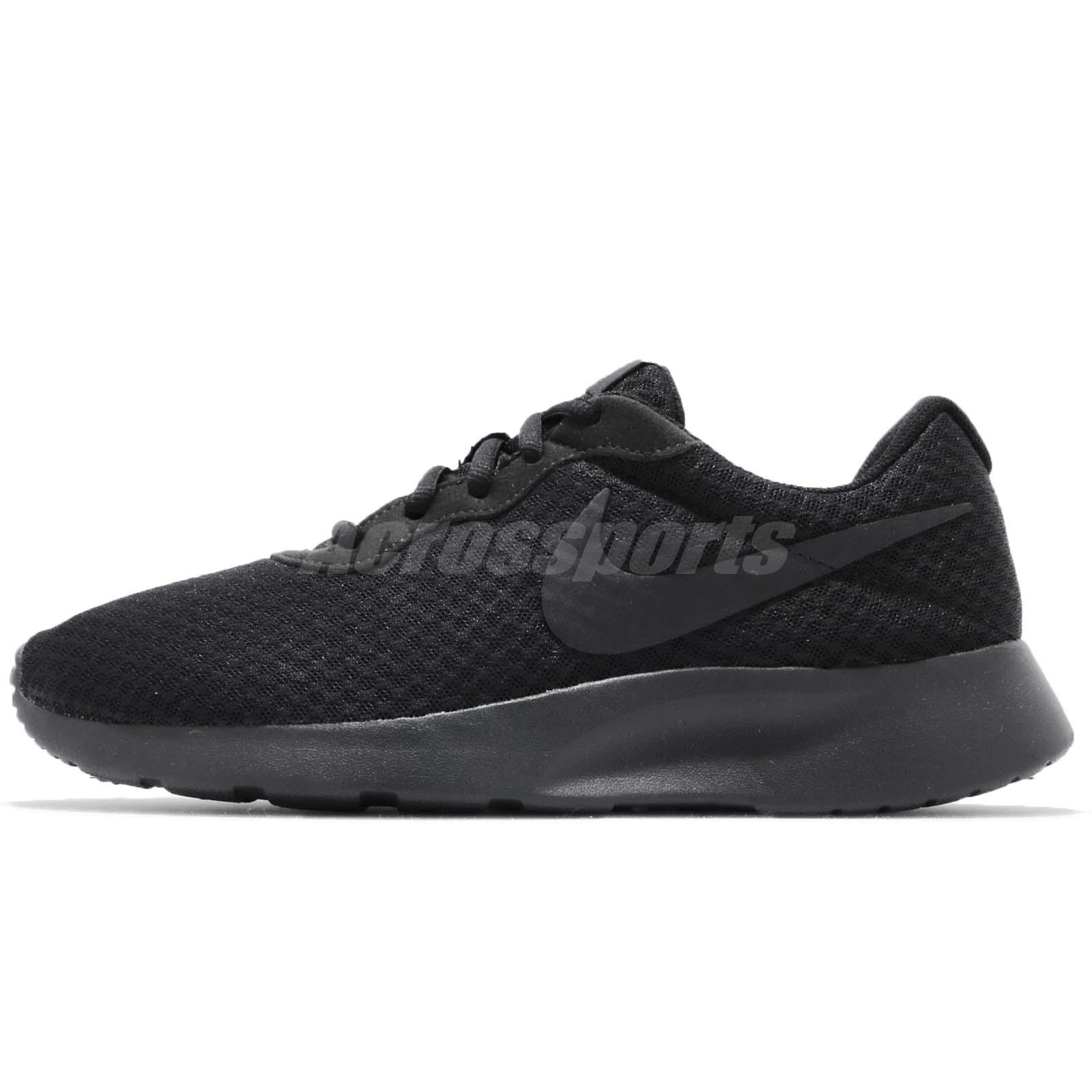 Nike Tanjun Black Anthracite Mens Casual Shoes Sneakers 812654-001 ... ceeb10c03e2dc