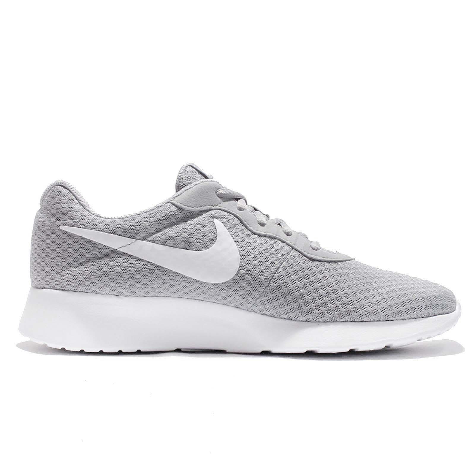 Nike Tanjun Wolf Grey White NSW Mens Running Shoes 812654-010  b1ea5640130