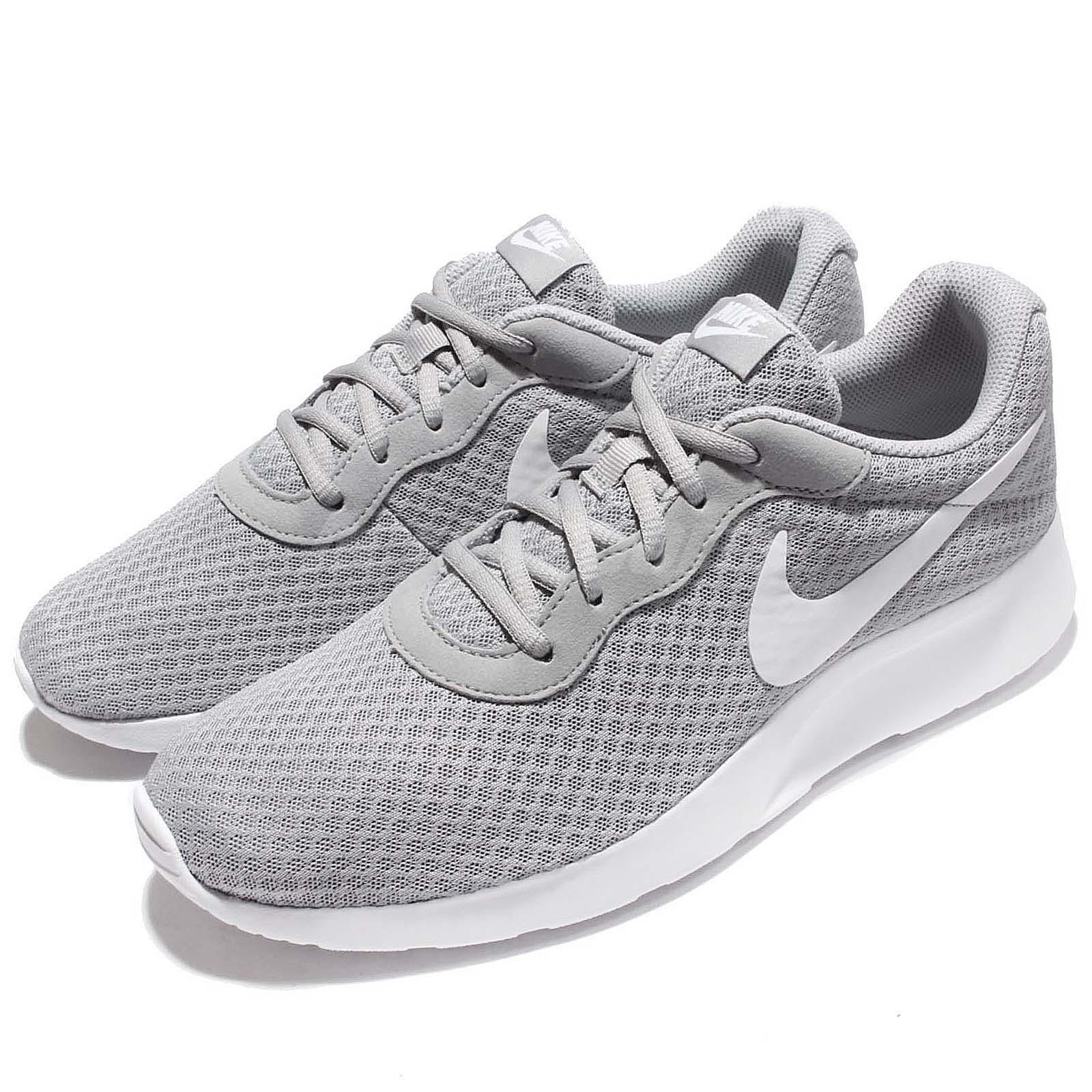 newest collection 6447a b0cbe Details about Nike Tanjun Wolf Grey White NSW Mens Running Shoes 812654-010
