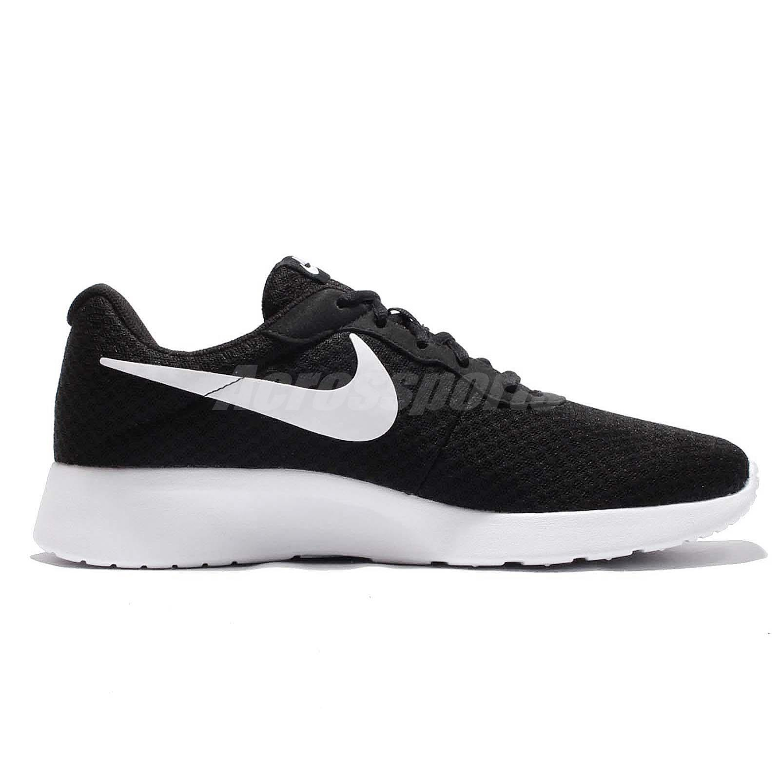 beb5d5458 Nike Tanjun Black White Sportswear Men Running Shoes NSW Sneakers ...