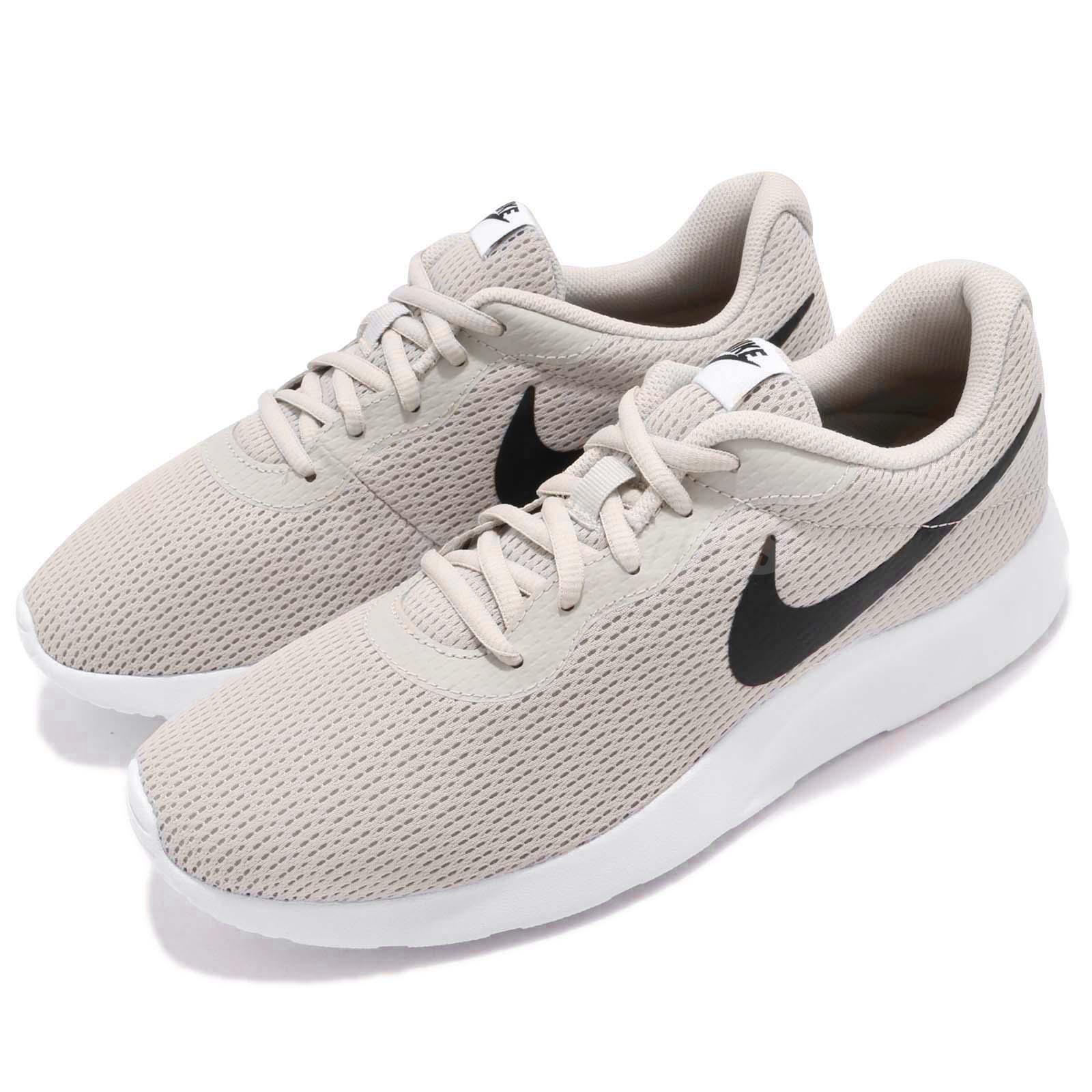f3ef83ff56959 Details about Nike Tanjun Light Bone Black White Men Running Shoes Sneakers  Trainer 812654-012