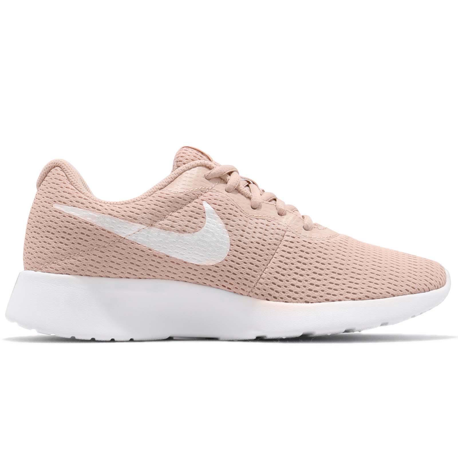 d6c7e704072 Nike Wmns Tanjun Particle Beige White Women Running Shoes Sneakers ...