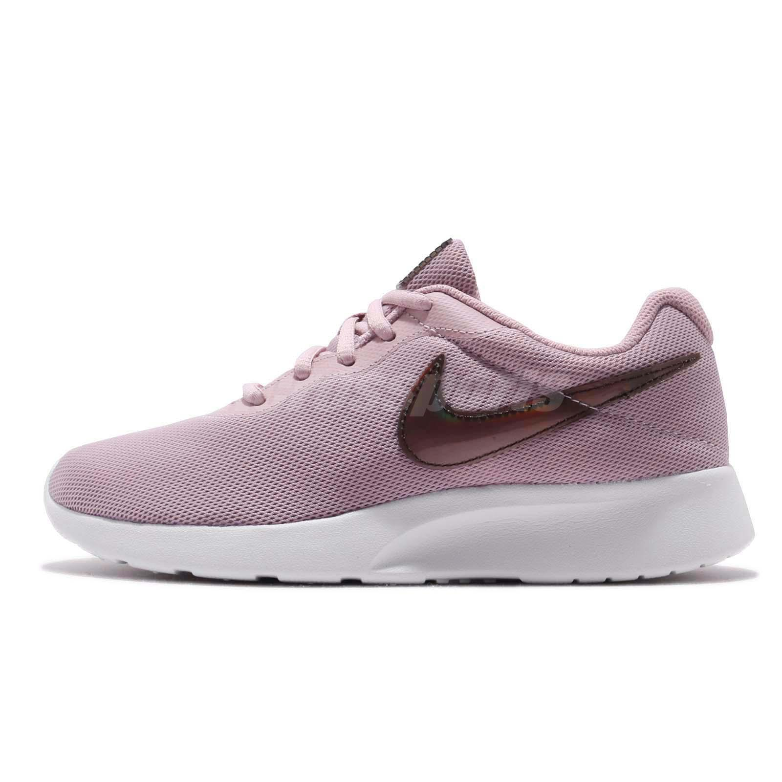 ee9064e3ea9 Nike Wmns Tanjun Plum Chalk White Women Running Casual Shoes Sneakers  812655-503
