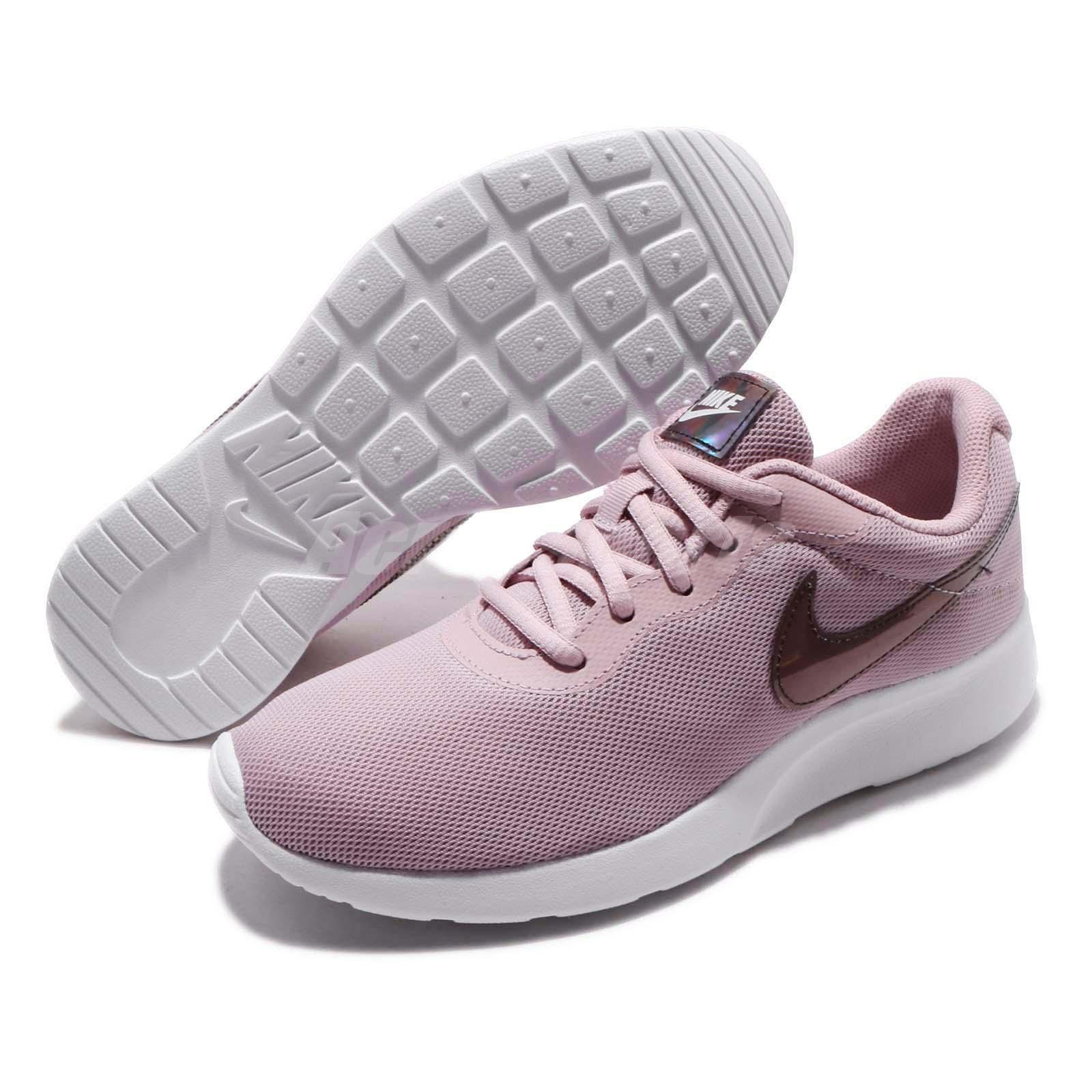 d8adae98da6 Nike Wmns Tanjun Plum Chalk White Women Running Casual Shoes Sneakers  812655-503 Shoes