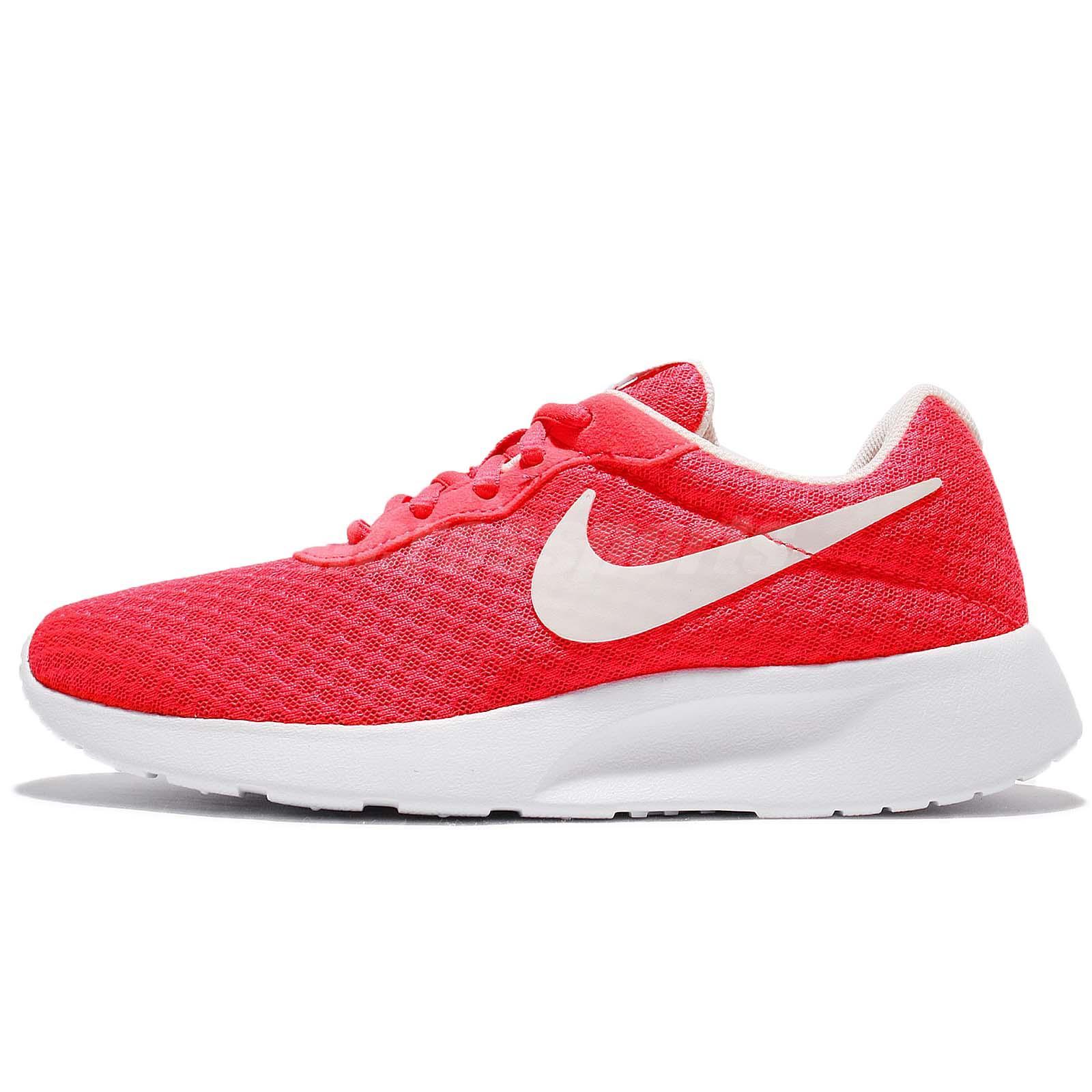 4b86ae30ff4 Wmns Nike Tanjun Solar Red LT Orewood Women Shoes Sneakers Trainers 812655- 602