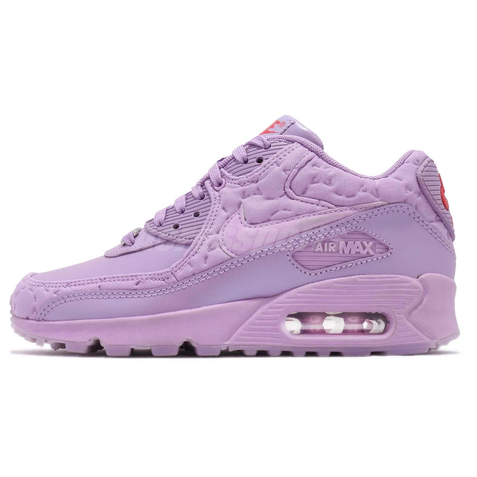 new arrival b6358 d0ce5 ... discount code for nike wmns air max 90 qs paris macaron purple women  running shoes 813150