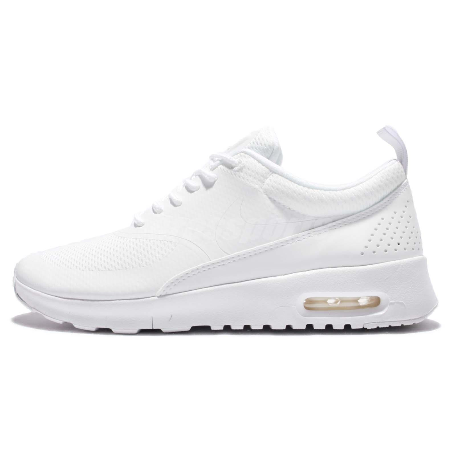 nike air max thea gs triple white kids youth womens. Black Bedroom Furniture Sets. Home Design Ideas