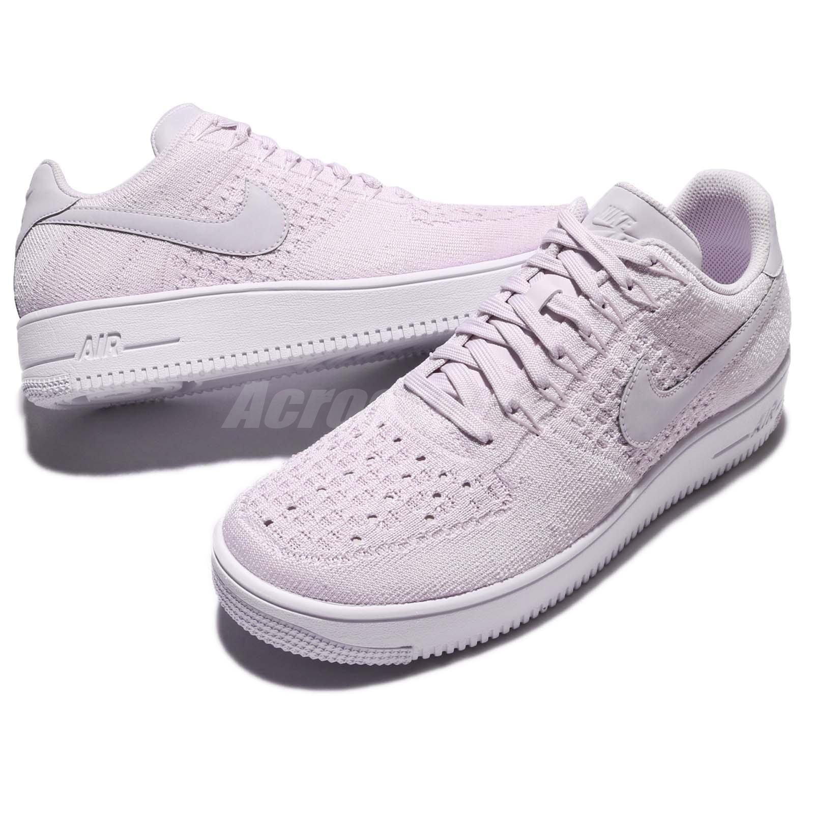 competitive price 89e92 109e6 Details about Nike AF1 Ultra Flyknit Low Air Force 1 Light Violet Men  Casual Shoes 817419-500