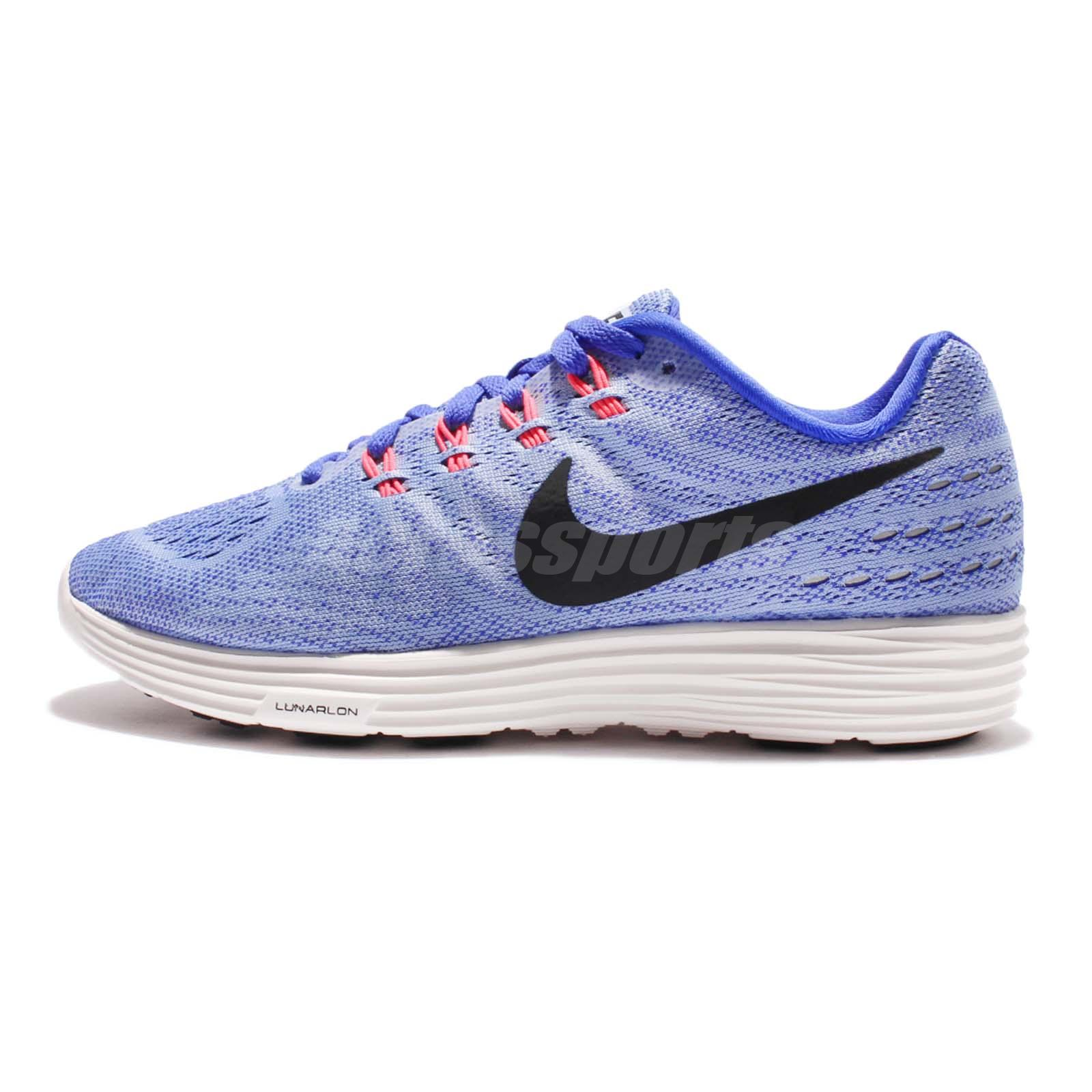 02703789448f0 Wmns Nike Lunartempo 2 II Blue Black Women Running Shoes Sneakers 818098-408
