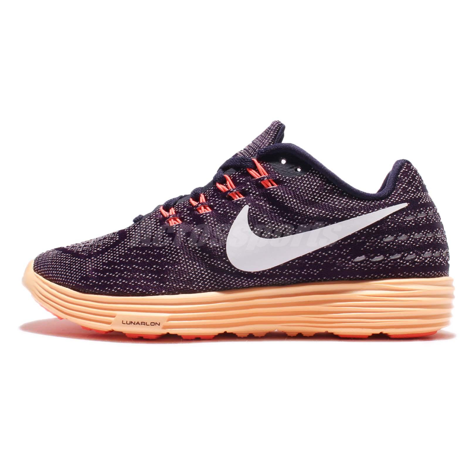 Wmns Nike Lunartempo 2 Two Purple Orange Women Running Shoes Sneakers  818098-502
