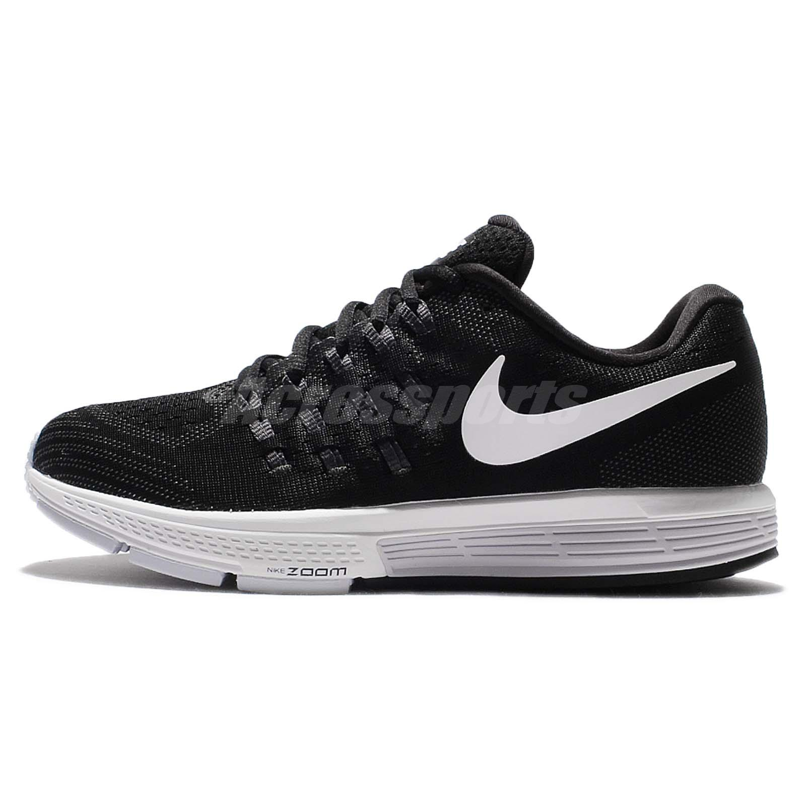 42ed1b0a4c1 Wmns Nike Air Zoom Vomero 11 Black White Women Running Shoes Sneakers 818100 -001