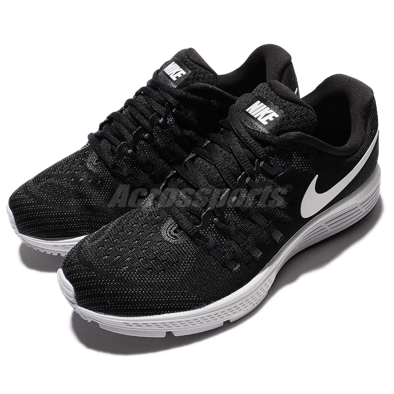 13149288489 Details about Wmns Nike Air Zoom Vomero 11 Black White Women Running Shoes  Sneakers 818100-001