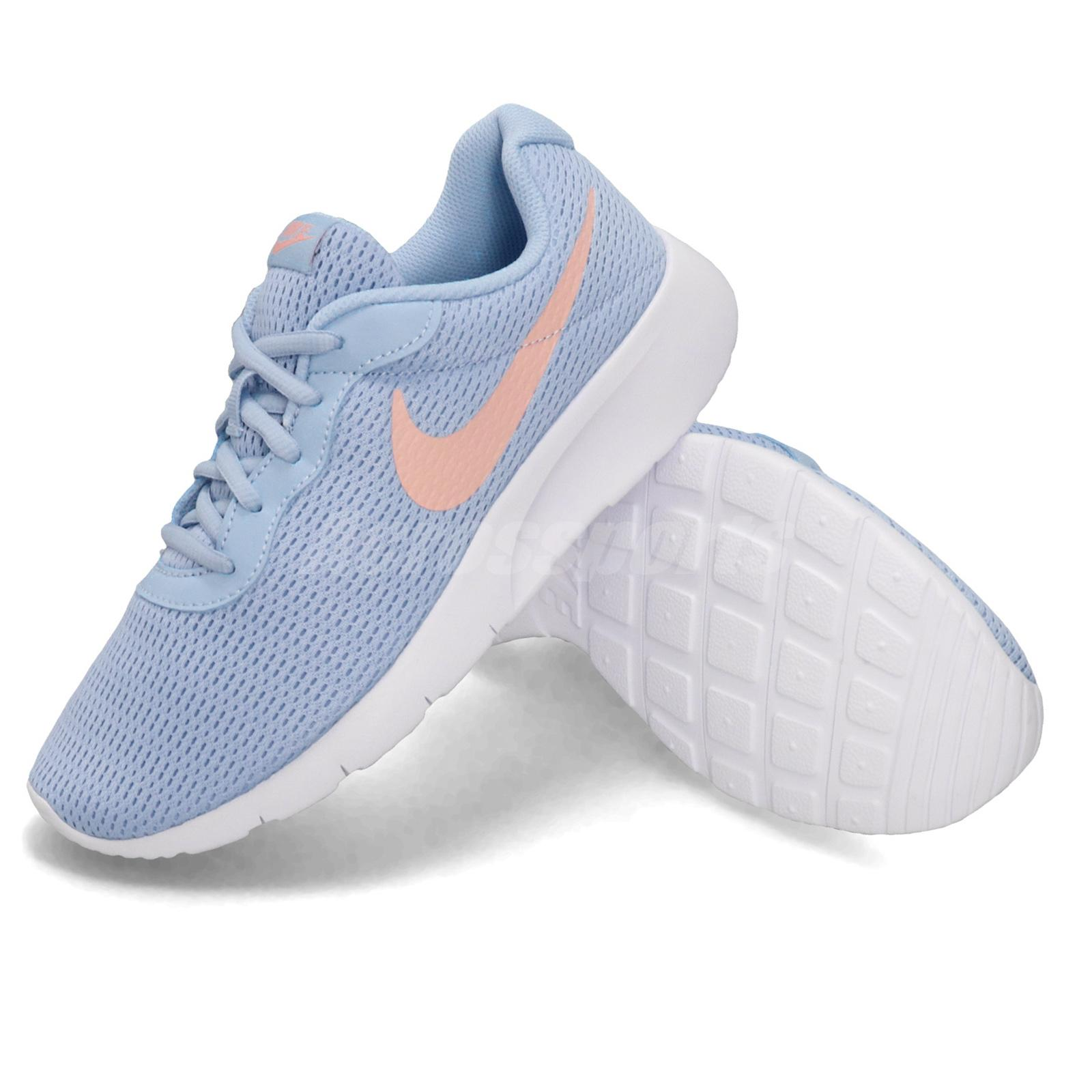 Details about Shoes Nike Tanjun GS 818384 605 Bleached Coral Pink Sneakers New Original
