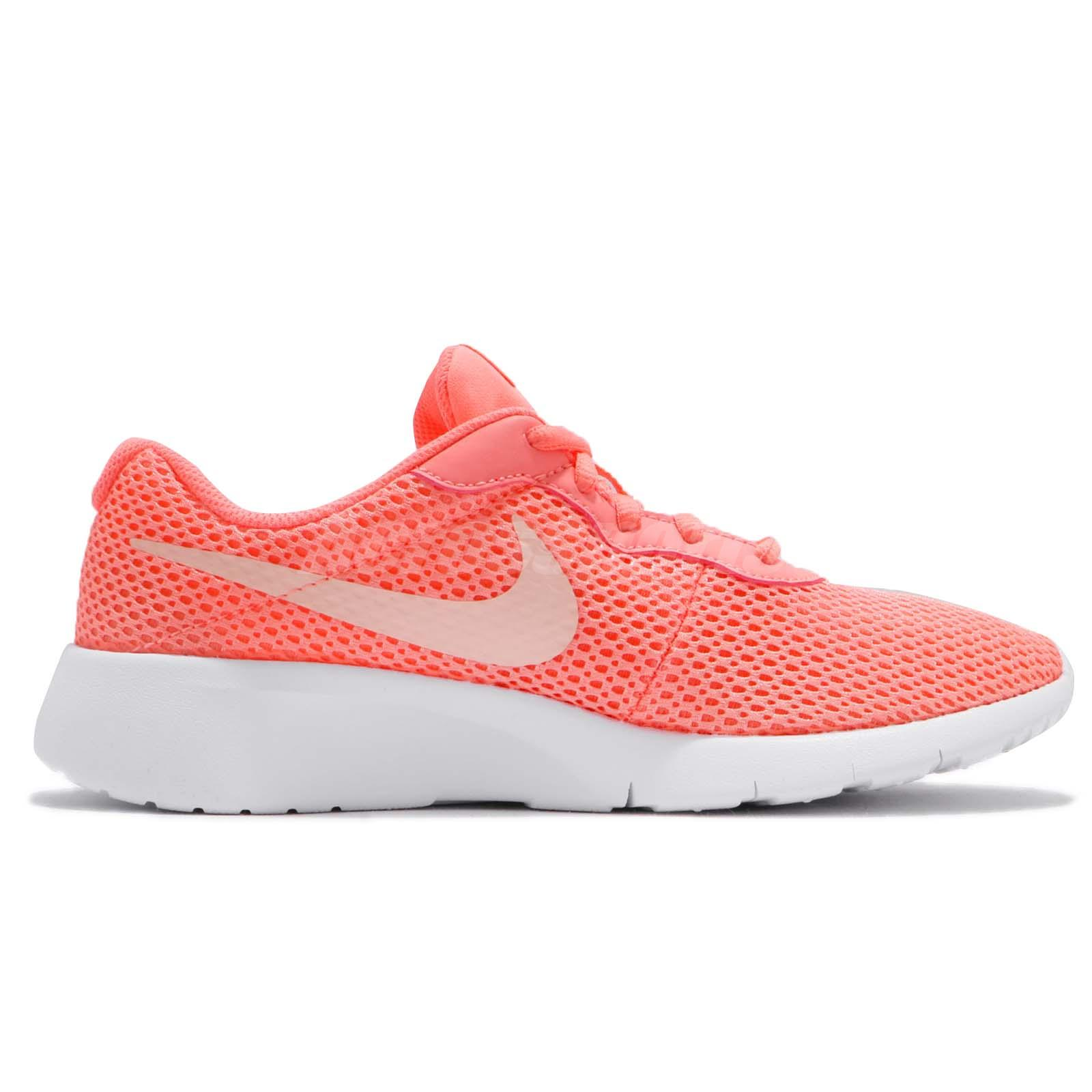 9a14c6f235e7c Details about Nike Tanjun GS Pink White Kids Girls Women Casual Shoes  Sneakers 818384-602