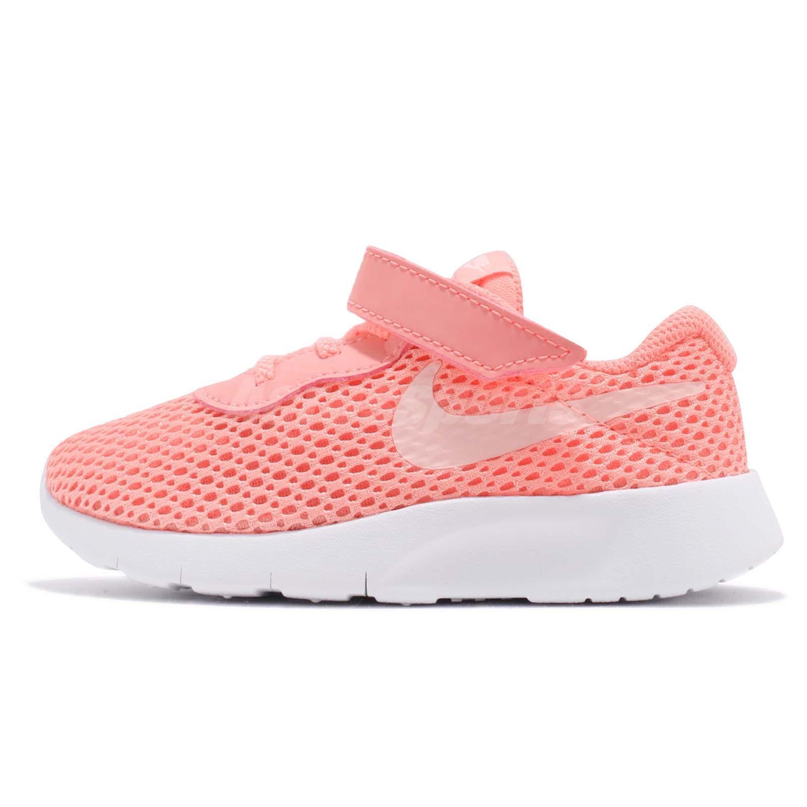 Nike Tanjun TDV Light Atomic Pink Toddler Infant Running Shoes 818386-602