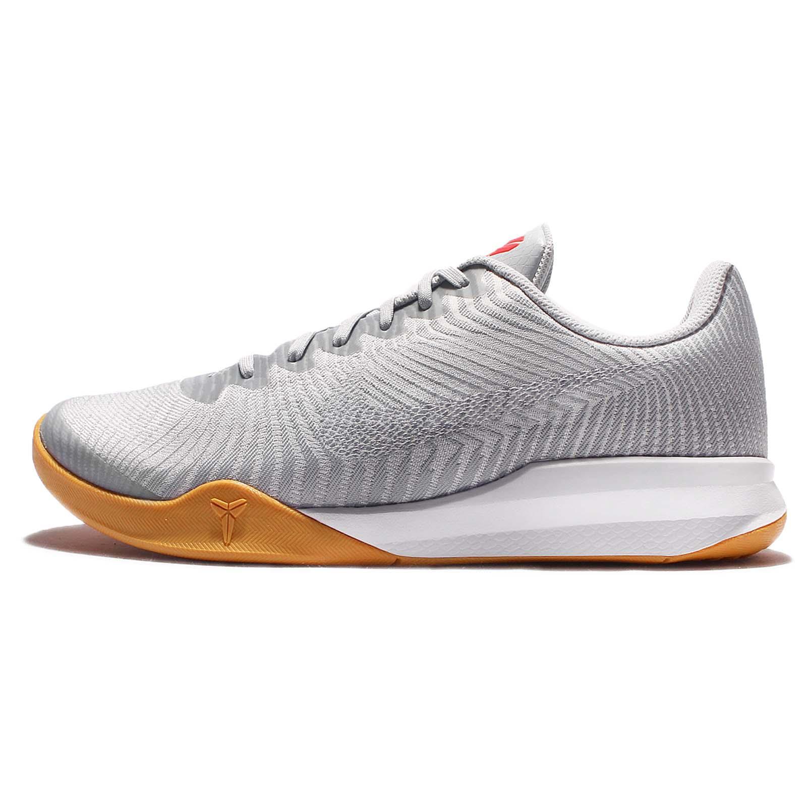 Kb Mentality White Basketball Shoes