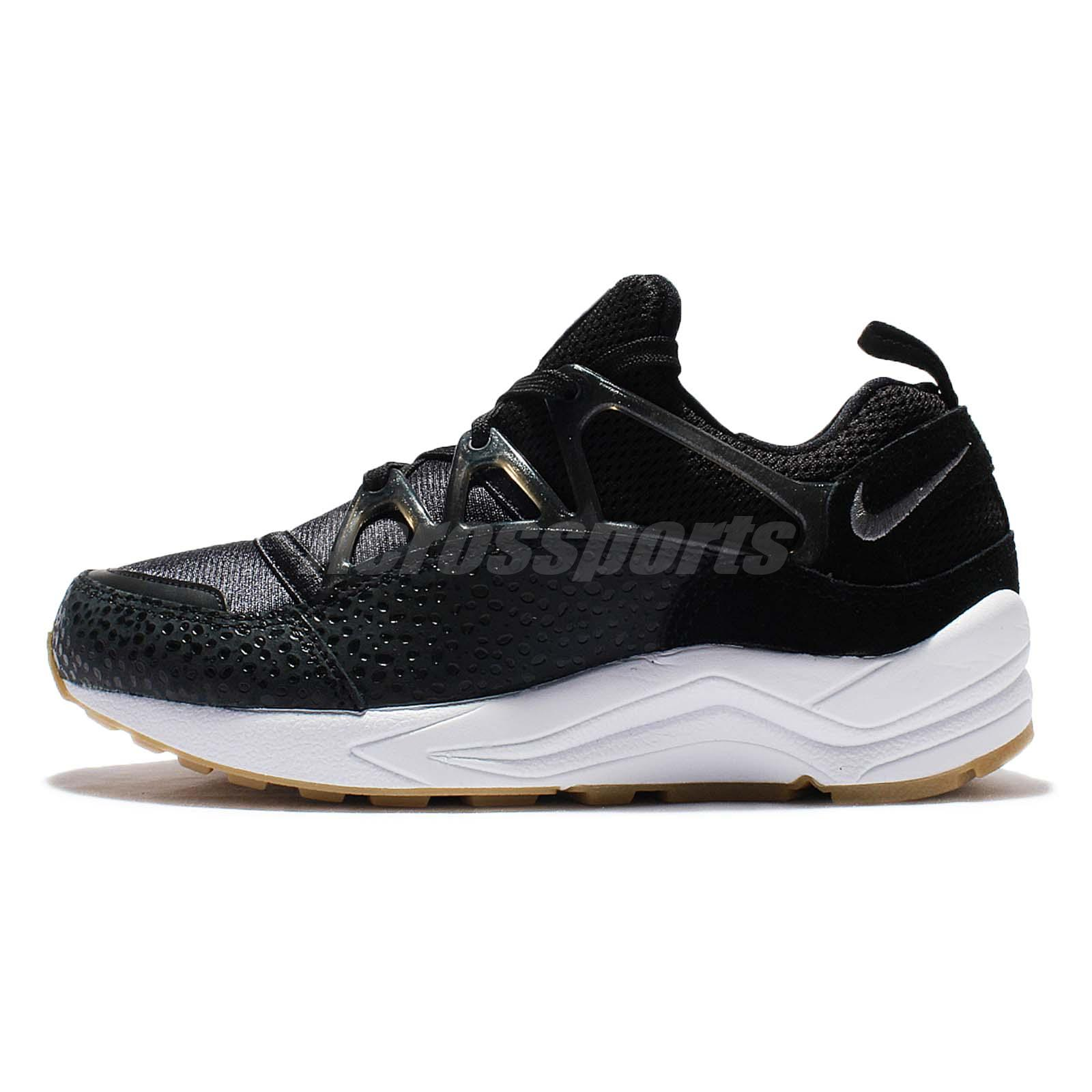 buy popular 9bf84 7f6bd Nike Wmns Air Huarache Light PRM Black Safari Gum Women Running Shoes  819011-001