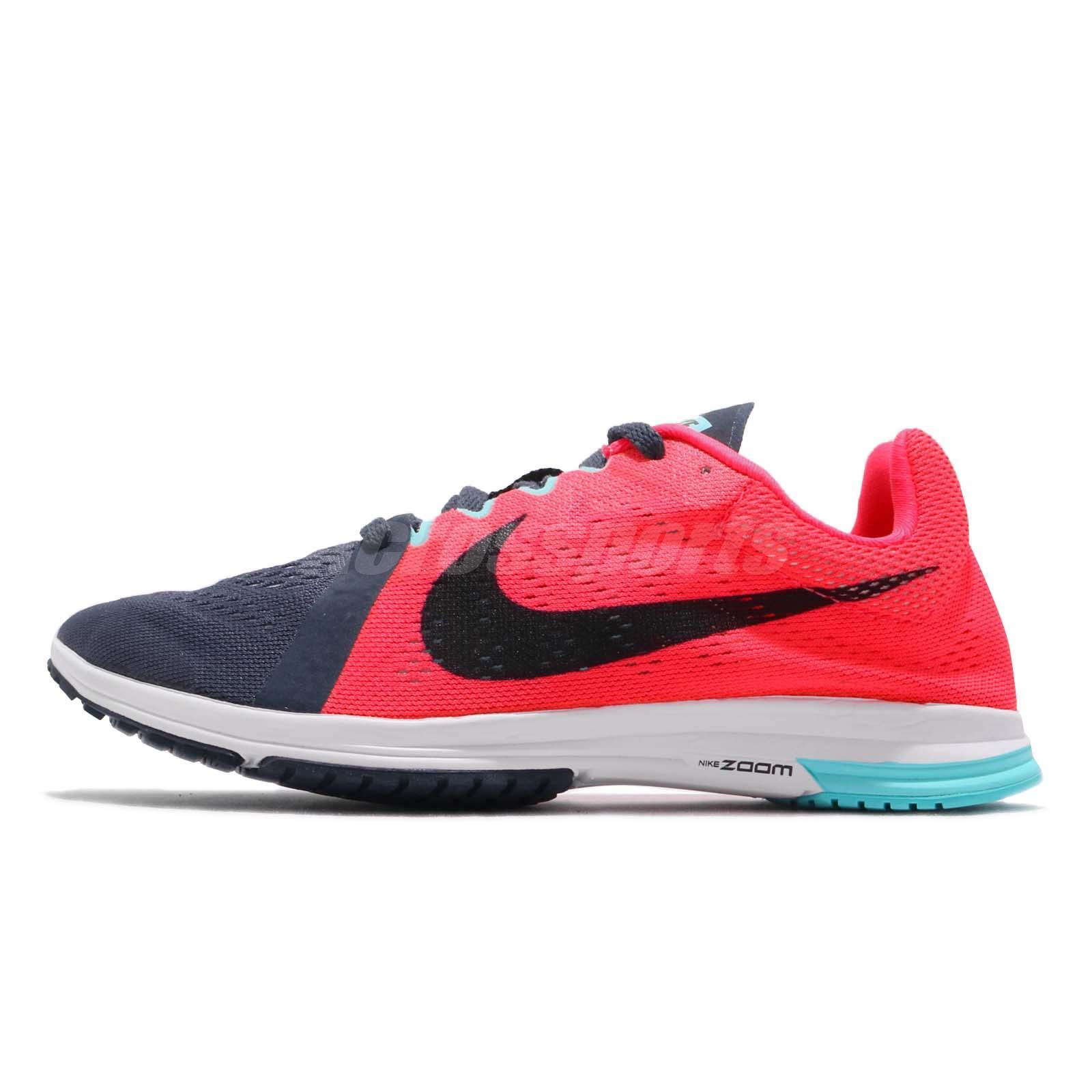 26aecebba469 Nike Zoom Streak LT 3 Solar Red Black Light Carbon Men Running Shoes 819038- 663