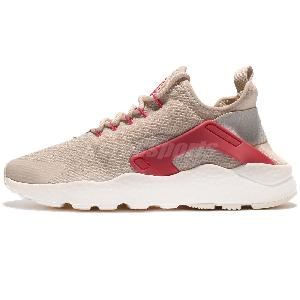 Damen Nike Air Huarache Run Ultra Print 844880600 Light Crimson rot rosa