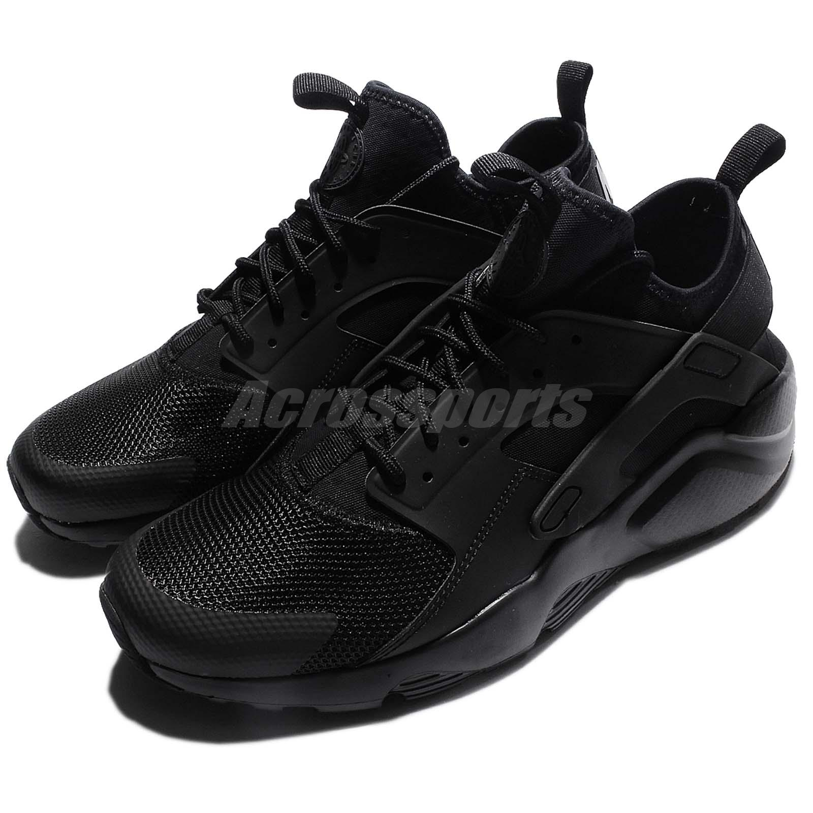 outlet store 52927 e6d9b Details about Nike Air Huarache Run Ultra Triple Black Men Running Shoes  Sneakers 819685-002