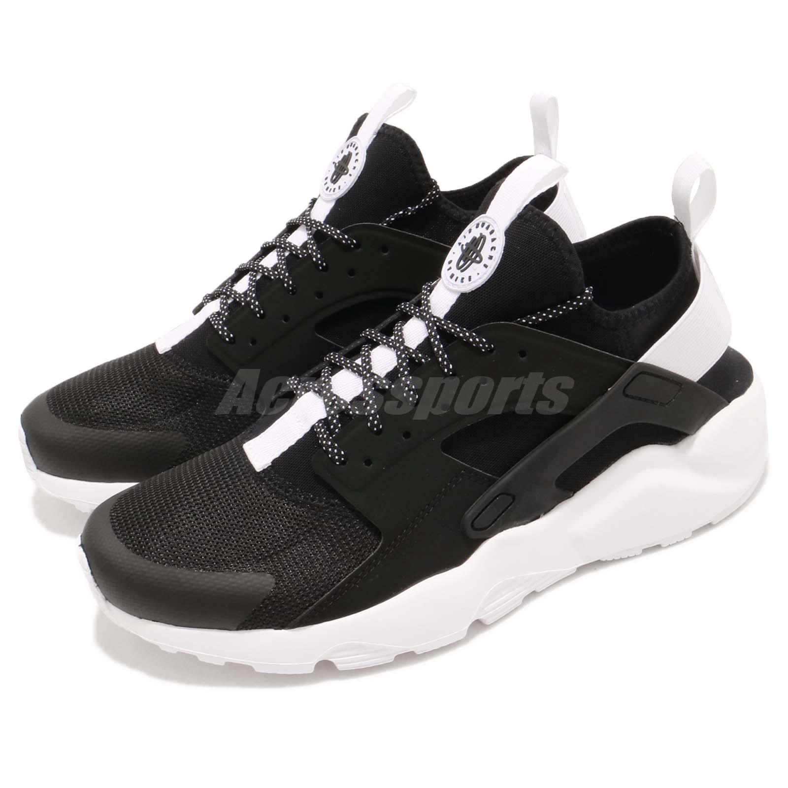 970ff710cfb79 Details about Nike Air Huarache Run Ultra Black White Men Running Shoes  Sneakers 819685-018