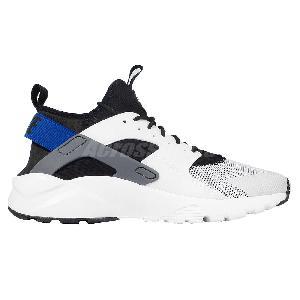 sneakers for cheap 28da9 4061b ... Nike Air Huarache Run Ultra White Black Blue Mens Running Shoes 819685- 100 ...